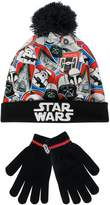 Star Wars Boys Hat and Gloves Set