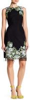 Donna Ricco Embroidered Sheath Dress