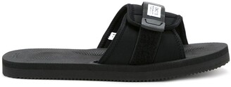 Suicoke Open-Toe Buckle Slides