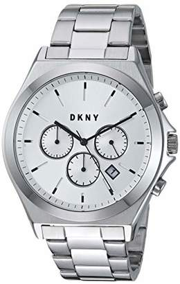 DKNY Men's Parsons Quartz Watch with Stainless-Steel Strap
