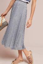 Maeve Barnett Striped Skirt