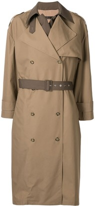 Rokh Layered Two-Tone Coat