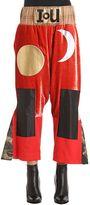 Vivienne Westwood Flared Patchwork Velvet Pants