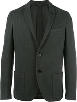 Fendi tweed blazer - men - Silk/Polyamide/Acetate/Wool - 48