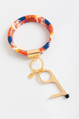 Mary Square Clean Key Bracelet in Red - Multi