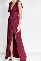 Elie Saab Pleated Floor Length Dress