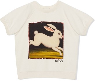 Gucci Kids rabbit T-shirt