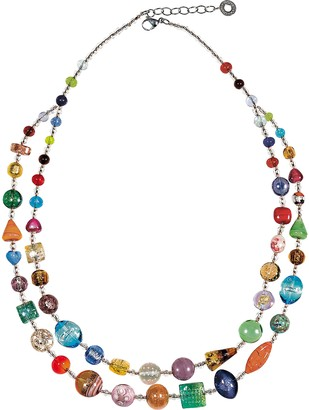 Antica Murrina Veneziana Long Bouquet Necklace