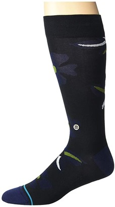 Stance Sonic Bloom (Black) Crew Cut Socks Shoes