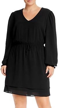 Aqua Curve Tiered Hem Dress - 100% Exclusive