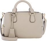 Smythson Women's Mini Dover Crossbody-LIGHT GREY