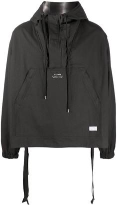 Stampd Hooded Pullover Jacket