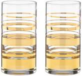 Kate Spade Hampton Street Highball Glass, Set of 2