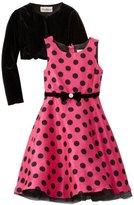 Rare Editions Girls 7-16 Cardigan Dress