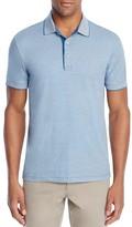 BOSS GREEN C-Janis Fine Stripe Classic Fit Polo Shirt