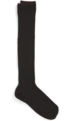 Nordstrom Over the Calf Cotton Blend Socks