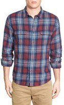 Lucky Brand 'Jon' Plaid Twill Work Shirt