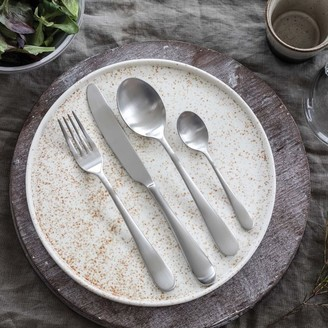 west elm Mepra Natura Ice Stainless Steel Flatware (Set of 20)