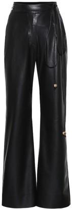 Nanushka Chimo high-rise wide-leg pants