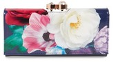 Ted Baker Women's Blushing Bouquet Leather Matinee Wallet - Blue