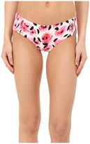 Kate Spade Spring 17 Smocked Hipster Bottom Women's Swimwear