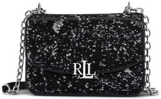 Ralph Lauren Sequined Madison Crossbody Bag