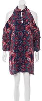 Parker Silk Printed Dress