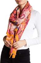 Bindya Multicolored Floral Scarf