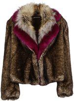 Dries Van Noten Rimbald Furred Coat