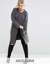 Asos Knitted Midi Cardigan
