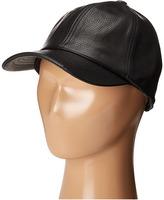 eve jnr - Leather Cap Caps