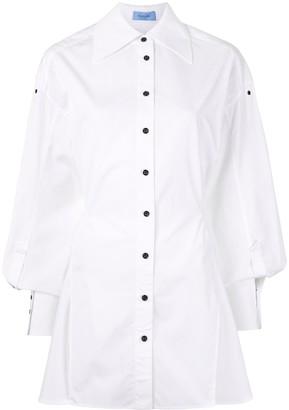 Thierry Mugler Oversized-Cuff Shirt