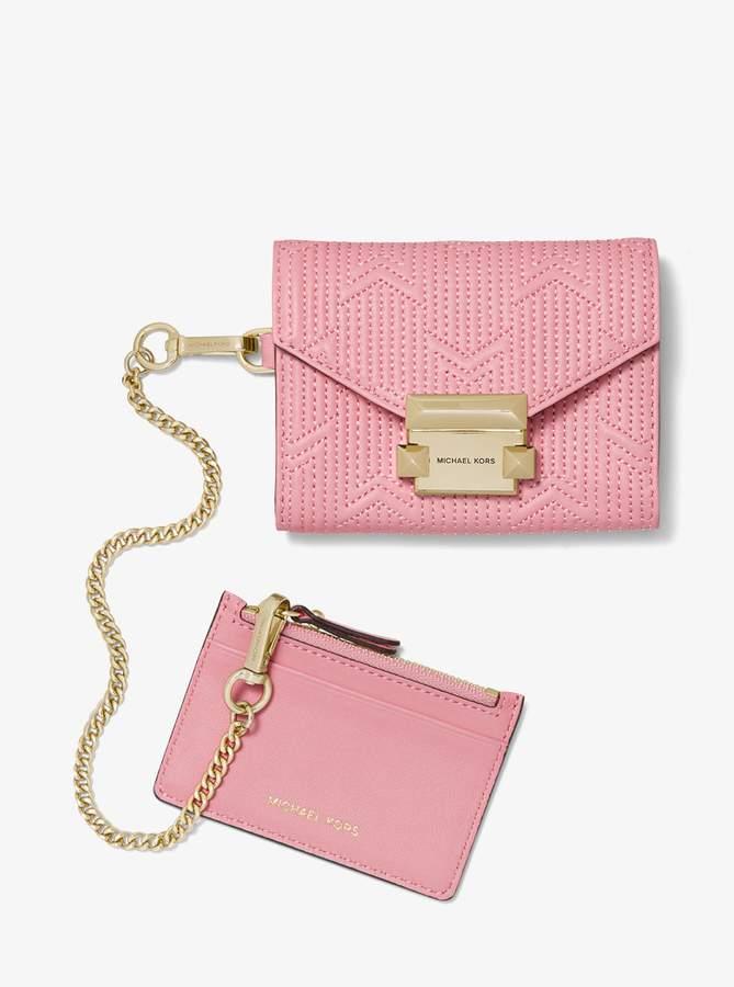 9ea1c1e591c8 Michael Kors Lock Wallet - ShopStyle