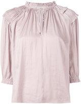 Ulla Johnson gathered blouse - women - Polyester - 4