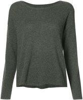 Nili Lotan round neck top - women - Cashmere - S