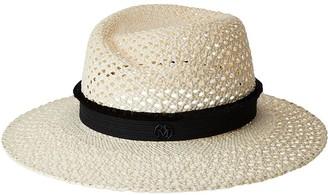 Maison Michel Virginie woven straw hat