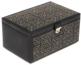 Wolf 'Marrakesh' Jewelry Box - Black
