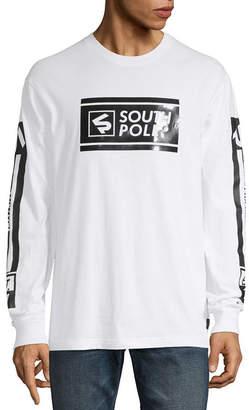 Southpole South Pole Mens Crew Neck Long Sleeve T-Shirt