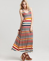 Sam  &  Lavi Striped Maxi Dress