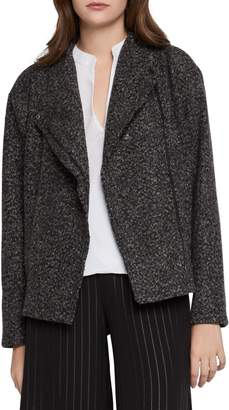 BCBGeneration Asymmetric-Zip Boucle Jacket