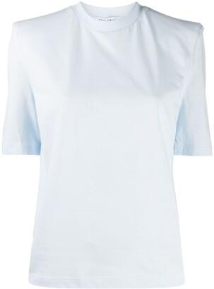 ATTICO plain crew neck T-Shirt