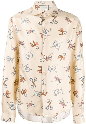 Gucci Graphic Print Shirt
