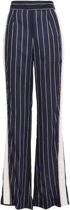 Tome Striped Woven Wide-leg Pants