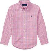 Ralph Lauren 2-7 Cotton Poplin Shirt