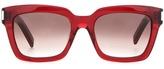 Saint Laurent Bold Square Sunglasses
