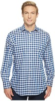 Thomas Dean & Co. - Long Sleeve Large Bold Check Sport Shirt Men's Clothing