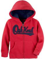 Osh Kosh Boys 4-12 Logo Zip Hoodie