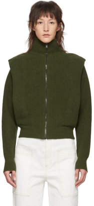 Stella McCartney Green Wool Sweater