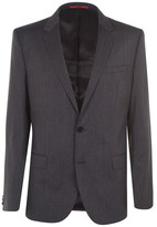 HUGO Henry Slim Fit Herringbone Two-Piece Suit Jacket