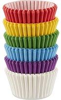 Wilton Mini Baking Cups Rainbow, Acrylic, Multicoloured, 3-Piece